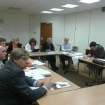 What's going on in scrutiny in March?
